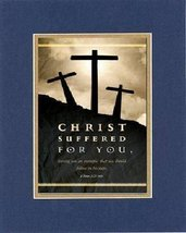 Poems for Easter/Palm Sunday/Ash Wed - Christ suffered for you, leaving you an e - $11.14
