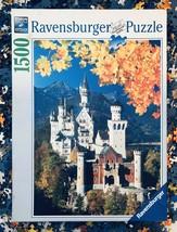 Ravensburger Neuschwanstein in Autumn Jigsaw Puzzle 1500 German Castles ... - $23.66
