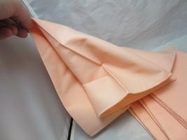 4 vintage table linens. Napkins. Peach - $8.99