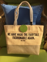 NWT/KATE SPADE/DISNEY/WE Have Made The Fairytale Fashionalble AGAIN/CANVAS Tote - $250.00