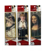 Pack of 3 Masterpiece Nail File Emery Boards of Assorted Famous Artwork ... - $71.23