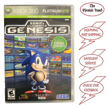 Sonic's Ultimate Genesis Collection (Microsoft Xbox 360, 2009) Complete & Tested - $10.95