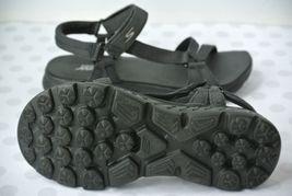 Sandals Max 7 GoGa Womens NICE Skechers Sz Strappy Black M Comfort qR47Z