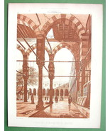 ARCHITECTURE PRINT: Egypt Cairo Court of El Moyed Mosque - $12.15