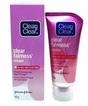 Clean & Clear Fairness Cream (40g)  Free Shipping - $8.14