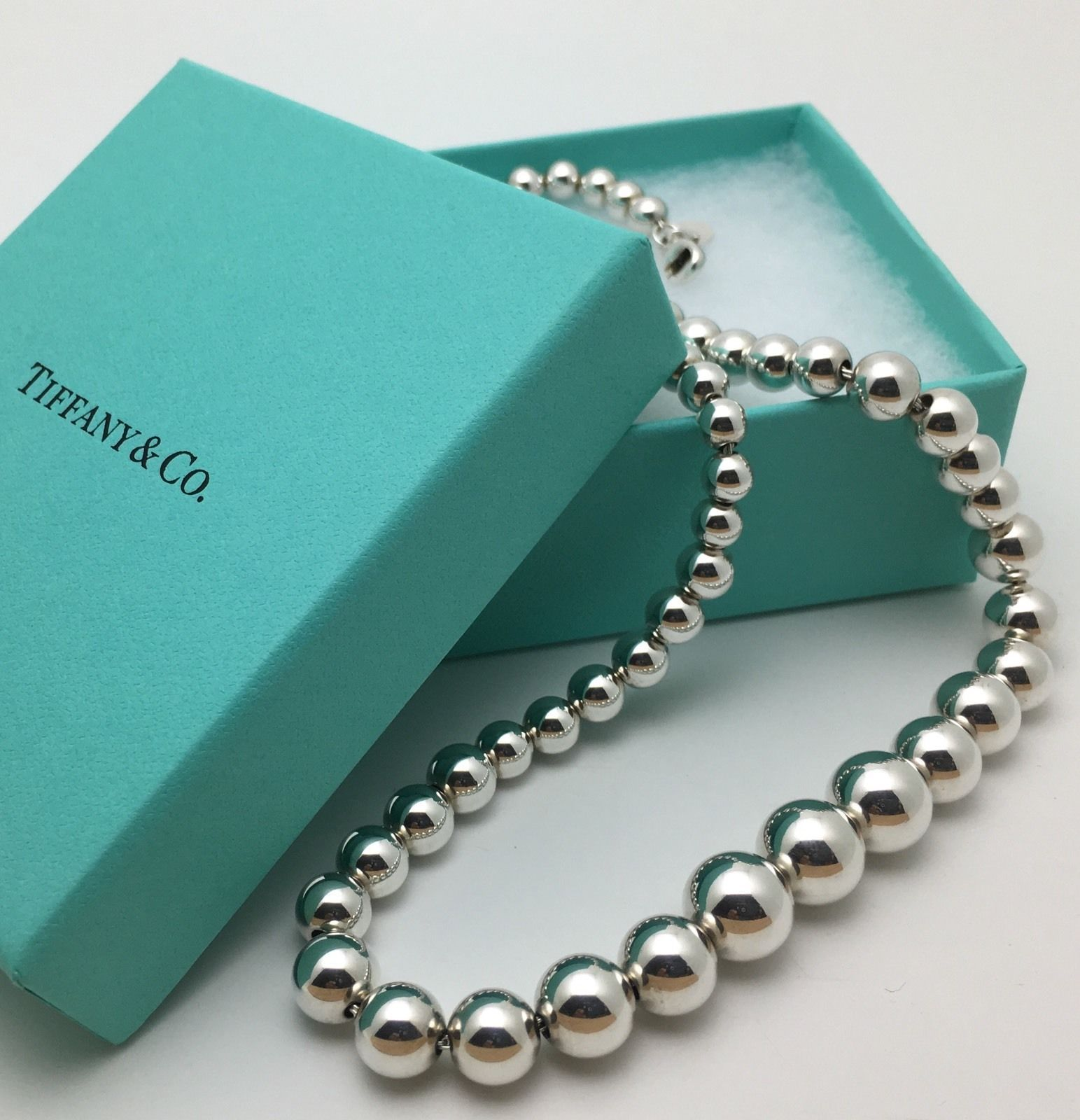 Tiffany Co Sterling Silver Bead Ball And 50 Similar Items