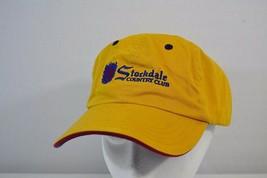 Stockdale Country Club Junior Golf Gold/Purple  Baseball Cap Adjustable ... - $16.99