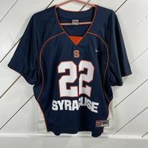 Nike Syracuse Lacrosse #22 Mens XL Jersey EUC - $29.67