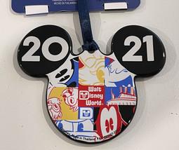 Walt Disney World 2021 Mickey Mouse Ceramic Disc Ornament NEW - $26.90