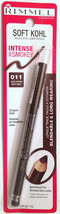 RIMMEL SOFT KOHL KAJAL  EYE LINER PENCIL SABLE BROWN 011 NEW SEALED BOX - $16.52