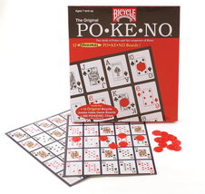 Bicycle Pokeno Original 12 Game Boards NEW - $19.29