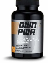 OWN PWR L-Carnitine Tartrate 500MG, 90 Capsules, Up to 3 Month Supply - $16.41