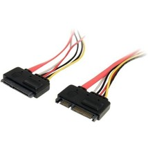 StarTech.com 12in 22 Pin SATA Power and Data Extension Cable - SATA for Hard Dri - $23.10