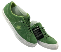 Converse Chuck Taylor All Star Low Top Sneaker Jade Suede Men Sz 10 Wome... - $65.42