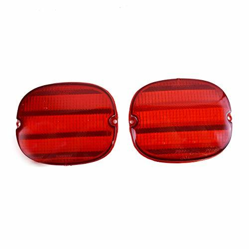 A-Team Performance Rear Tail Light Lens Compatible with Chevrolet Chevy Corvette