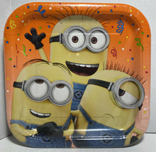 Despicable Me 3 Lunch Plates 8 Per Package Birthday Party Supplies New - $5.14