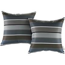 Modway Two Piece Outdoor Patio Pillow Set Stripe EEI-2401-STR - $42.00