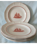 Wedgwood Georgetown Collection Flying Cloud Salad Plate, Set of 5 - $70.18