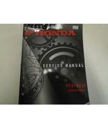 1998 1999 2000 2001 2002 2003 2004 Honda VTR1000F SUPER HAWK Service Manual - $47.79