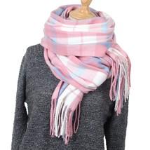 Cashmere Scarf Pashmina Tassels Scarves Wraps Autumn Winter Blanket Shaw... - $16.56