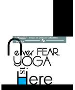 Never Fear, Yoga Is Here, Yoga Quote Art Print, Yoga Art Print, Fitness ... - $12.88+
