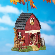 Country Red Barn Birdhouse - $23.50