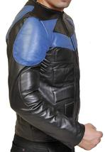 Ismahawk Night Wing Shepherd Grayson Knight Biker Costume Leather Jacket image 2