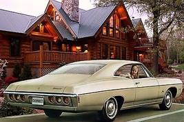 1968 Chevrolet Impala custom light tan   24 x 36 INCH   sports car - $18.99