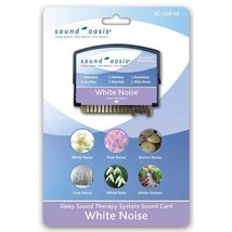Sound Oasis - White Noise Sound Card (6 Sounds Included) - $15.11