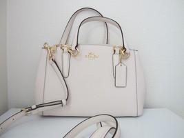 New Coach Mini Christie Crossgrain Carryall Satchel Convertible Handbag ... - £128.39 GBP
