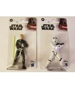 """Luke Skywalker / Stormtrooper Disney Star Wars Hasbro Toy Figure 4"""", NEW 2019 - £7.53 GBP"""