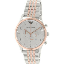 Classic AR1864 Gray / Silver Stainless Steel Analog Quartz Women's Watch - $118.66