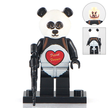 Unbranded Panda Henchman Minifigure Fits Lego - $3.49