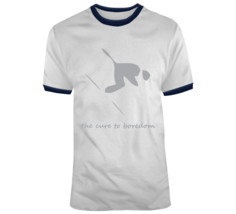 Downhill Skiing, Cure To Boredom T Shirt - $26.99+
