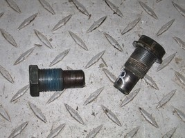 YAMAHA 1999 WOLVERINE 350 4X4  REAR SWINGARM BOLTS    PART 29,129 - $15.00