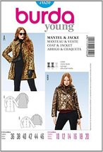 Burda Style Coat & Jacket sewing pattern 7020 Young - $13.72