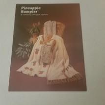 Pineapple Sampler 8 Crocheted Pineapple Afghans - $8.58