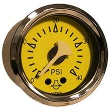 VDO Allentare Yellow/Blue 40PSI Mechanical Water Pressure - $46.39
