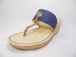 Liz Claiborne Lively Womens Sandals  8M Denim Size 8M - $38.69