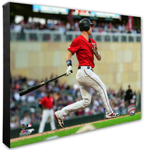 "Max Kepler 2019 Cleveland Indians ""Batting"" -16x20 Photo on Stretched Canvas - $89.99"
