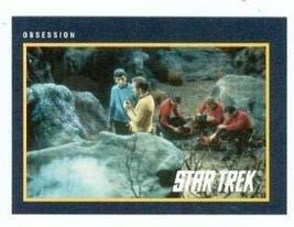 Star Trek card #169 Obsession William Shatner Leonard Nimoy Spock Kirk - $3.00