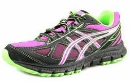 Women's ASICS GEL SCRAM 2 Pink+Black Athletic Running Sneakers Shoes T3G... - $36.99