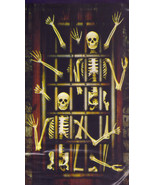 6-Ft. Skeletons in a Torture Dungeon Silhouette Halloween Wall Murale - $4.94