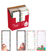 4 Inch X 9 Inch Christmas Long Memo Pad W/Magnet 4 Designs/Case of 48 - $130.76 CAD