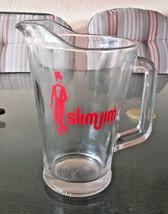 Vintage Advertising Promo SLIM JIM Large Glass ... - $9.00