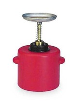 Eagle P-712 Plunger Polyethylene Safety Can, 2 Quart Capacity, Red - $56.00