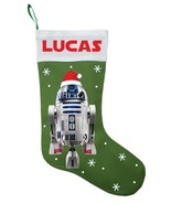 R2D2 Christmas Stocking - Personalized and Hand Made R2D2 Christmas Stoc... - $29.99