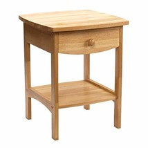 Winsome Wood 82218 Claire Accent Table, Natural - $38.03