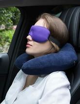 2-Sleep Masks, Earplugs, Neck Pillow - $17.81+