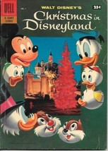 Walt Disneys Christmas in Disneyland Comic Book #1 Barks Dell Comics 195... - $82.16